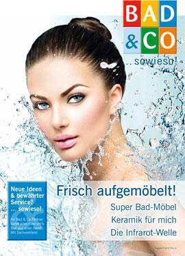 Flugblatt von Bad & Co